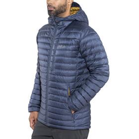 Rab Microlight Alpine Long Jacket Men Deep Ink/Footprint